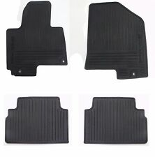 Genuine Kia Sportage All Weather Season Floor Mats OEM Rubber Complete set