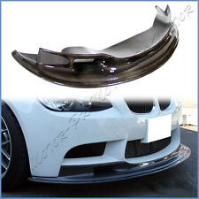 3K Carbon Fiber AK2 Look Extension Front Lip For 08-13 BMW E90 E92 E93 M3 Bumper