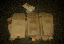 US Army modular Frag grenade Pouch (triple slot) in tri-color desert by Patriot