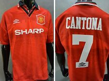 1994-96 Umbro Manchester United Home Shirt Eric CANTONA #7 SIZE L (adults)