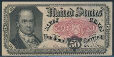 Fr1381 50¢ U.S. Fractional Currency - Very Choice Cu - Br4717