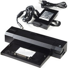 DELL Latitude E5250 E5570 E6440 E7450 E-PORT PLUS Dock Replicator Station + 130W