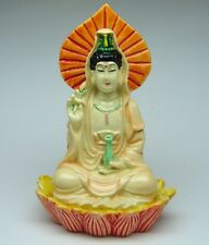 Small Guan Yin Statue on Lotus (Kuan Yin, Kwan Yin)