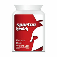 SPARTAN HEALTH RAPID WEIGHT LOSS PILLS TABLETS EXTREME STRENGTH LEAN TONE UP