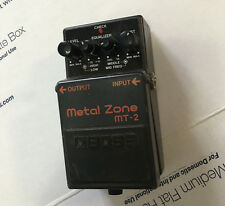 Boss MT-2 Metal Zone Distortion Overdrive Electric Guitar Effects FX Pedal
