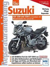 Suzuki Bandit 1250 S ab 2007 Reparaturanleitung Reparaturbuch Handbuch Wartung