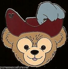 Disney Pin: WDW Hidden Mickey 2013 - Duffy's Hats: Captain Hook