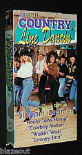 Classic VHS! Learn Country Line Dancin' (Volume 3, 1992) Vintage VHS Dance Video