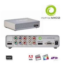 Matrox MXO2 Mini Max I/O-Box -> Notebook und Desktop schneller Encoder H.264 MP4