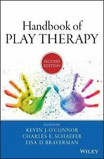 HANDBOOK OF PLAY - KEVIN J. O'CONNOR, ET AL. CHARLES E. SCHAEFER (HARDCOVER) NEW