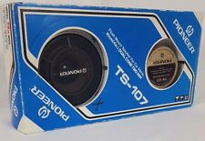 """Vintage Pioneer 4"""" Car Speakers with Grill, Surround is damaged, for repair"""
