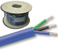 100 Metre Reel Blue Mains Arctic Cable 3 Core  3 x 4mm sq Outdoor 3183AG 100m