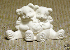 Ceramic Bisque October Pumpkin Cuddle Bear Clay Magic Mold J1476 Ready To Paint