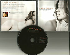 LARA FABIAN I will Love Again PROMO DJ CD Single 2000 USA w/ PRINTED LYRICS