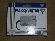 SEGA DREAMCAST PAL CONVERTOR CABLE LEAD BRAND NEW! Console AV Converter Adapter