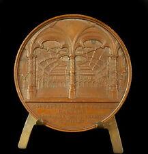 Medaille Couverture de la bourse d'Anvers MARCELLIS Antverpen 1854 Wiener medal