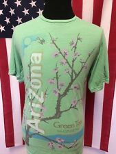 Arizona Green Tea T-Shirt men's XL Green Tea Gingseng & Honey Soft Thin Hipster