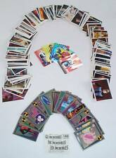 LOTTI 2 FIGURINE STICKERS PANINI GLI INCREDIBILI THE INCREDIBLES 2004 MANCOLISTA