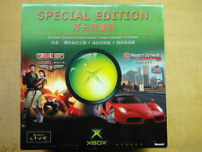 XBOX Console Limited Edition HK/Singapore Translucent Green NTSC-J complete NEW