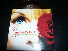 Heart Will You Be There (In The Morning) Rare Australian Card Sleeve CD Single