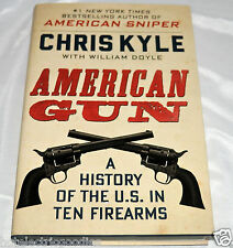 New SIGNED American Gun Chris Kyle + COA autographed by Taya Kyle Sniper HC 1/1