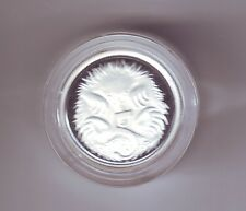 2005 SILVER Proof 5 Cent Echidna Ant Eater Australia out of Fine Silver Set