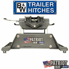 B&W 5th Wheel Hitch RVK3200 16K 16,000 LBS GTW Fifth Wheel Trailer + RAIL MOUNTS
