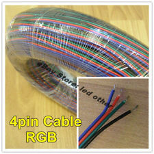 5M 4pin RGB extend cable wire connector for LED RGB strip lighting DIY use