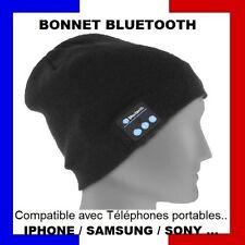 Bonnet Mains-libres Bluetooth Ecouteurs sans Fil casque stéréo pour iphone N