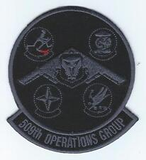 509th OPERATIONS GROUP GAGGLE  !!NEW!! (BLACK & GRAY VERSION) patch