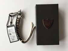 HOLLYWOOD TRADING COMPANY HTC WOVEN LEATHER KEYRING RRP £70