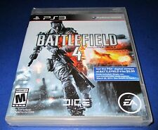 Battlefield 4 Sony PlayStation 3 - PS3 - *Factory Sealed! *Free Shipping!