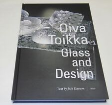 Oiva Toikka Glass And Design Big Book Color Pictures Finland NEW