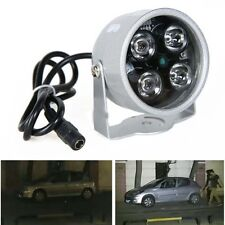 CCTV 4 LED Illuminator Light CCTV Security Camera IR Infrared Night Vision Lamp