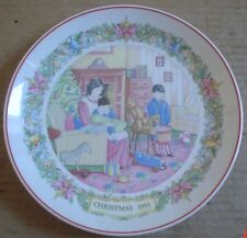 Wedgwood Collectors Plate CHRISTMAS TRADITIONS BOXING DAY OPENING GIFTS 1991