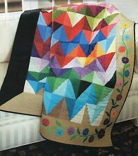 Nuances Quilt Pattern Pieced/Applique NM