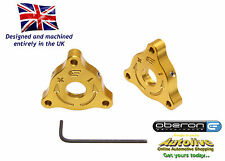 Oberon Performance Ducati 22mm A/F (Nut) Fork Adjusters #PRE-0001-GOLD