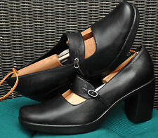 Dansko 2702020200 Black NappaTara Leather Mary Jane Pump Heels Womens 41 10.5 11