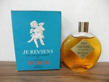Worth Je Reviens 2oz  Women's Eau de Cologne Made in France