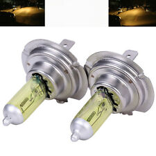 2pcs 3000K H7 12V 55W Halogen Xenon Bulbs Car Fog Daytime Lights Yellow Light