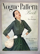 Vogue Pattern Book Magazine - April/May, 1948
