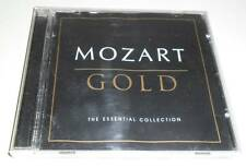 MOZART - GOLD : THE ESSENTIAL COLLECTION - 2002 UK 15 TRACK CD ALBUM