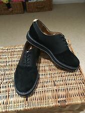 Pointer Black Leather And Suede Crago Shoes Uk8.5 RRP159 Euros