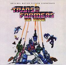 Transformers The Movie - Original - Black Vinyl - Limited Edition - Vince DiCola