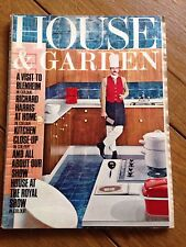 House And Garden Magazine July/August 1968 Vintage Home Advertising 1960's