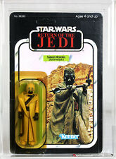Vintage Star Wars Carded ROTJ 65 Back B Tusken Raider AFA 80+ Y-NM #11386612