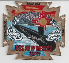 USS New Mexico SSN 779 - BCP # c7160 Submarine Patch