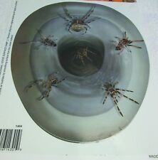 New Halloween Party Prop Toilet Topper Cling Decal Bathroom decoration Spiders