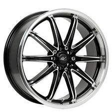 4-ICW Racing 214MB Tsunami 15x6.5 5x100/5x114.3 +38mm Gloss Black Wheels Rims