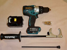 Makita XPH07 New 18V High Torque Lithium-Ion Brushless Hammer Drill Kit